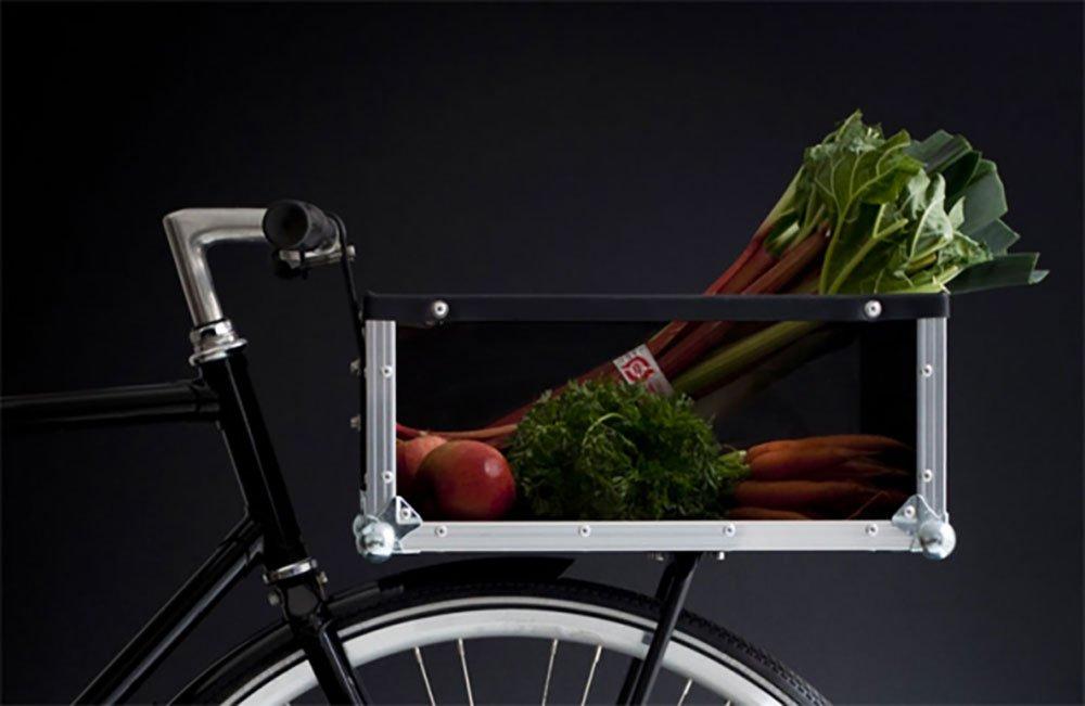 The Bike Crate un porte bagage de vélo hors norme