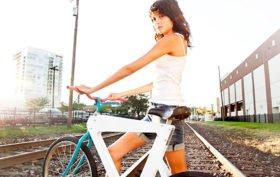 Le vélo Ice Cream Bike Concept, un fixie tout plat !