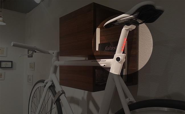 LightSkin, tige de selle avec éclairage intégré