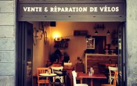 La bicycletterie, café & boutique à vélos sur Lyon