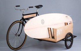 The Sidecar Bicycle un vélo pour transporter votre surf !