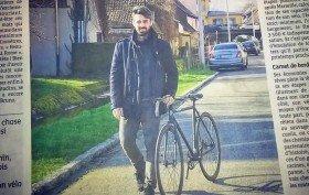 Roadtrip de Colmar à Rome à vélo en pignon fixe !