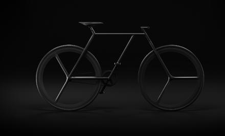 Superbe fixie minimaliste Baik Bicycle de Ion Lucin