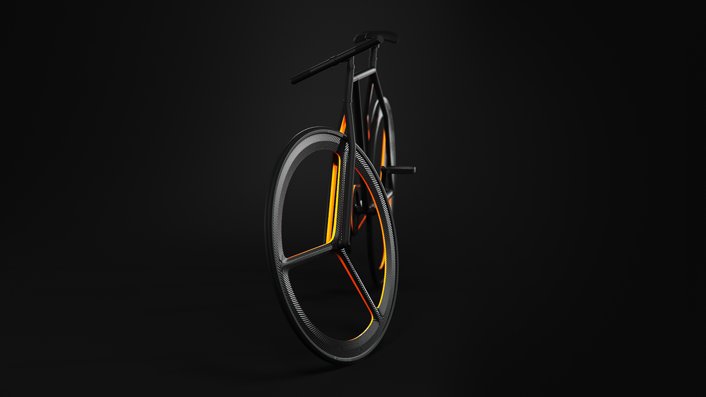 Superbe fixie minimaliste Baik Bicycle de Ion Lucin