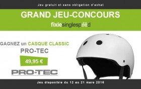 Jeu-concours, gagnez un casque de vélo Pro-Tec Classic