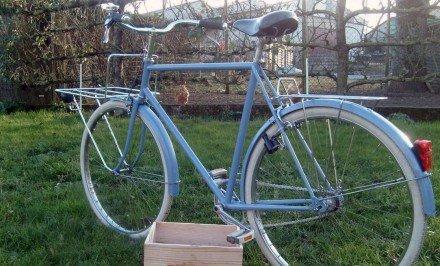 Restauration d'un vélo de ville Motobécane