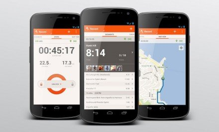 Application GPS Strava pour cyclisme et course à pied
