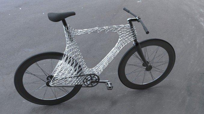 Arc Bicycle, nouveau fixie fabriqué avec une imprimante 3D