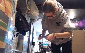 Vidéo de la réalisation complète d'un fixie par Maxence