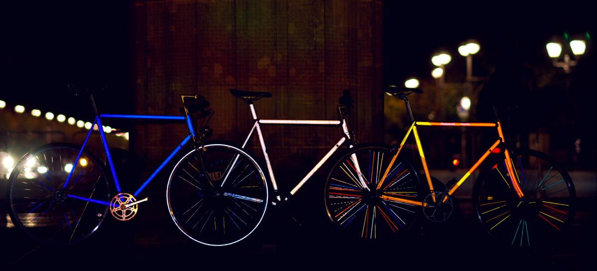 Happarel Bicycles propose des tatouages fluorescents