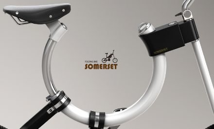 Somerset, le concept bike fixie pliable et design !