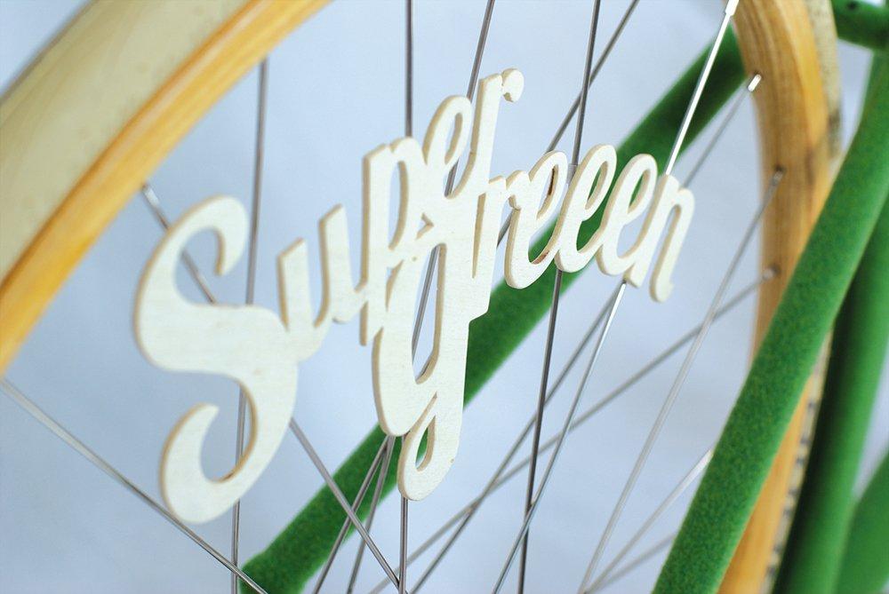 Supergreen, le fixie gazon design de Swabdesign  !