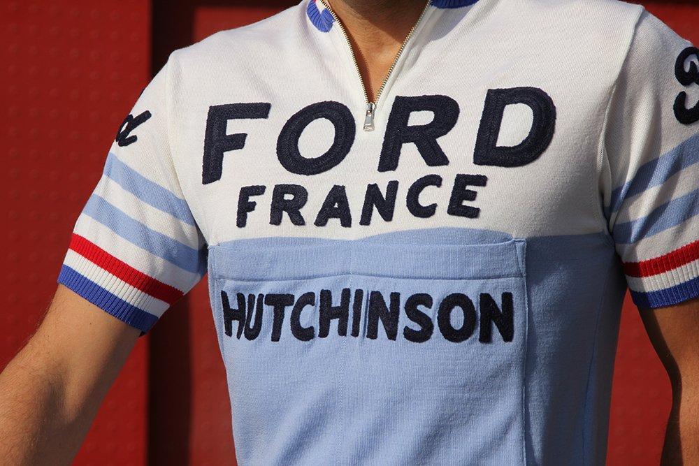 Magliamo maillot cycliste vintage laine