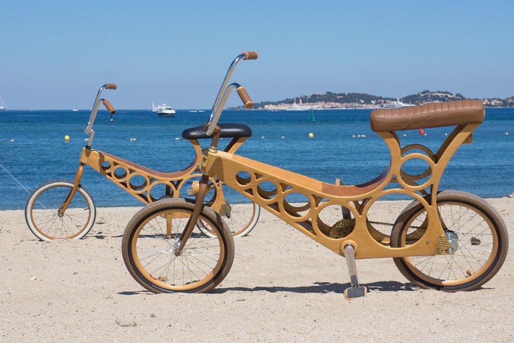 Hoppy un vélo en bois à monter sois-même pour 100 euros