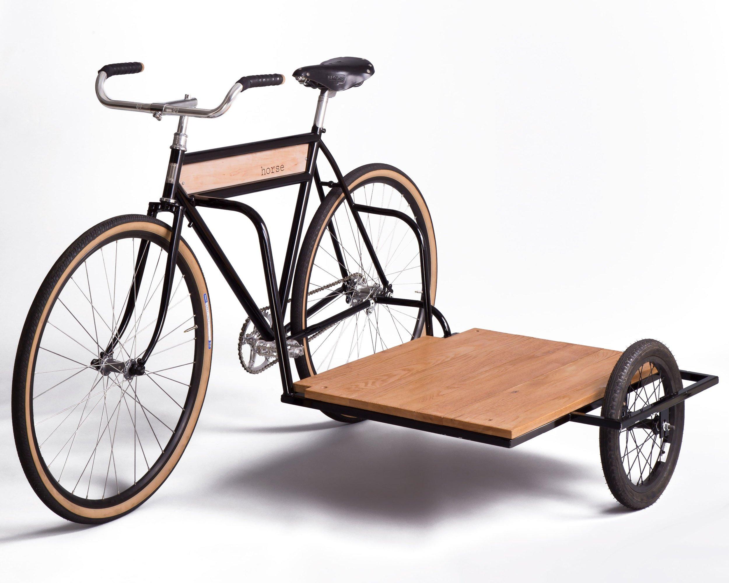 Horse side car bicycle, un vélo cargo bike pas comme les autres
