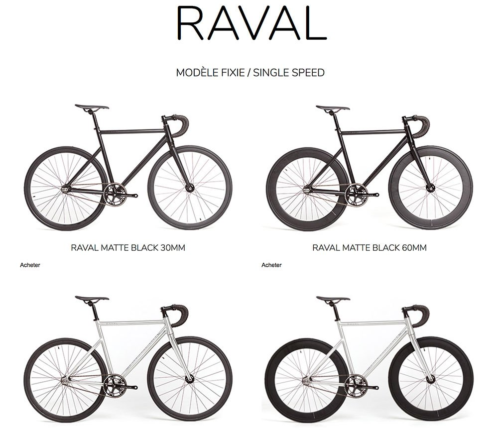 Vélo fixie singlespeed Raval de Santafixie