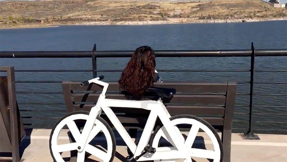 Découvrez un vélo ethique réalisé en papier recyclé par Greencode