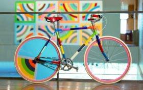 Art Bikes par Handsome Cycles à l'Institut des Arts de Minneapolis