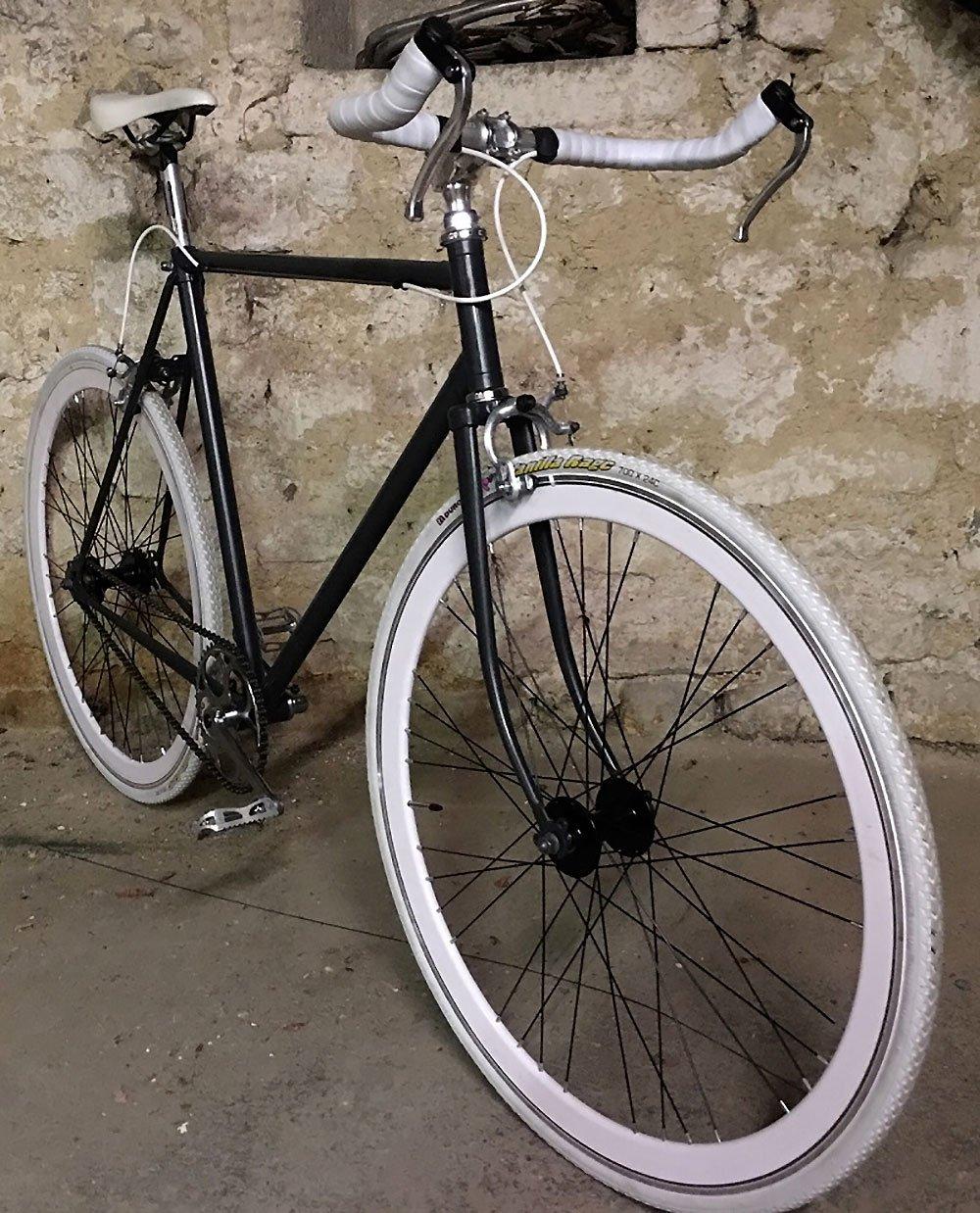 Transformation d'un vélo de course Abbey en Singlespeed