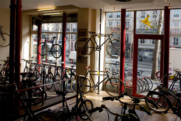 bicloune deux magasins de v los sur paris fixie. Black Bedroom Furniture Sets. Home Design Ideas