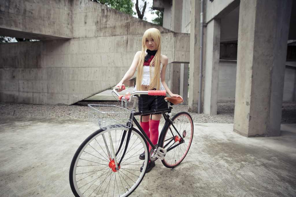 fixed gear girl taiwan 2