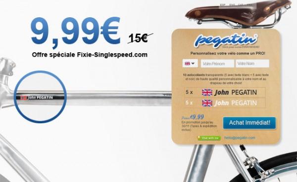 Pegatin, personnalisez votre vélo comme un pro