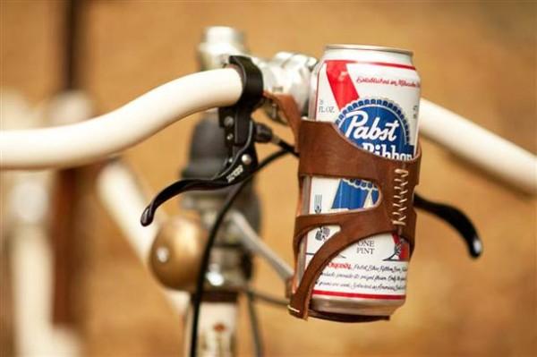 Un gadget porte canette pour votre vélo !