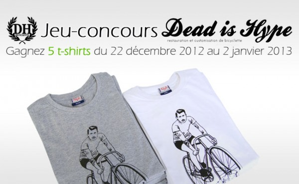 Jeu-concours Dead is Hype & Fixie Singlespeed