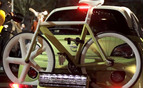 Collaboration entre Fixerati, Unik Bikes et Opel !