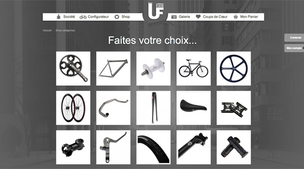 urban fixie le nouveau site de conception de fixie fixie singlespeed infos v lo fixie pignon. Black Bedroom Furniture Sets. Home Design Ideas