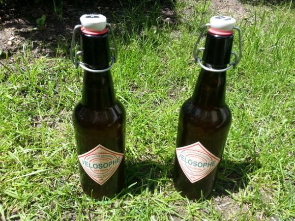 La bière du cycliste Vélosophe made in Suisse