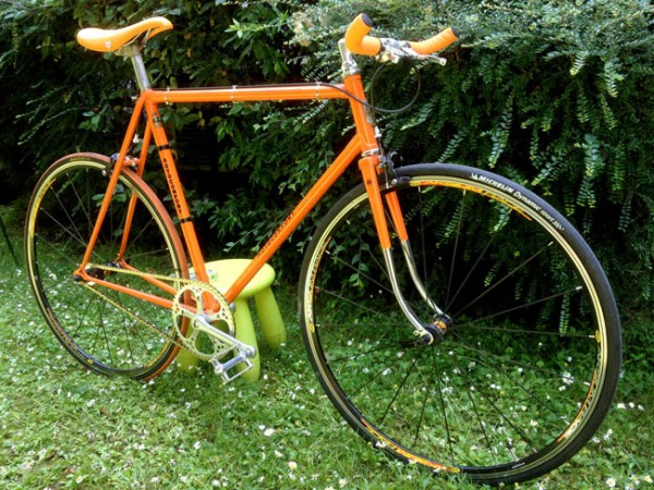 Métro, boulot, vélo, singlespeed Motobecane