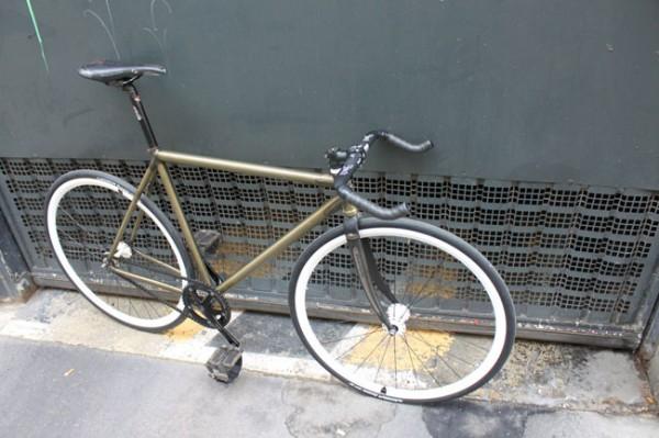 Pignon fixe Black Market Bikes de Simon