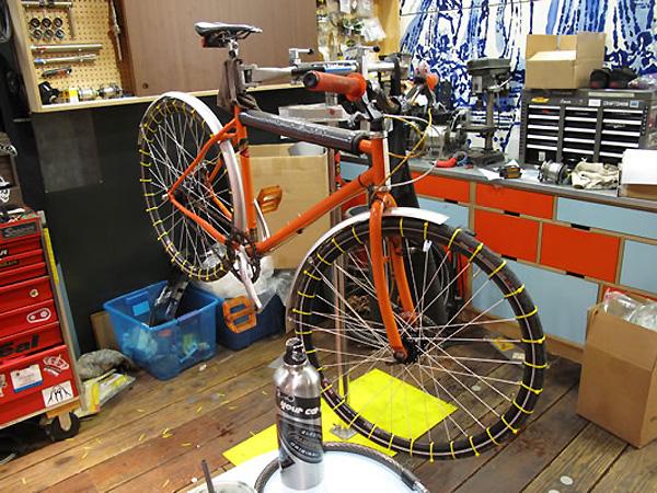 Des cha nes neige maison pour votre bike fixie for Fabrication maison
