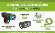 Jeux-concours Knog & Fixie Singlespeed