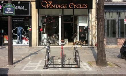 Vintage Cycles, shop parisien de vélos néo-rétros