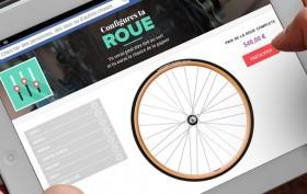 Macadam Cycles vous offre votre roue de vélo !