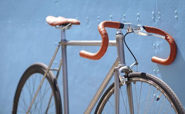 Le vélo de Tonton Louis devenu un fixie !