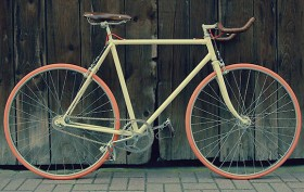 """Fernand"", la bicyclette singlespeed des Cycles Lelapin"