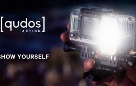 L'éclairage [qudos] Knok pour votre caméra GoPro