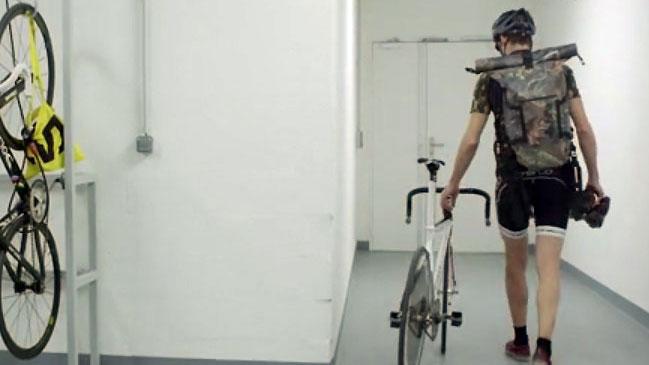 Vidéo vélo de piste Vélodrome avec Felix Fander