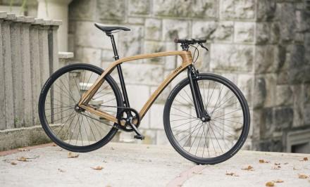 Tratar Bikes, le singlespeed en bois au design élégant