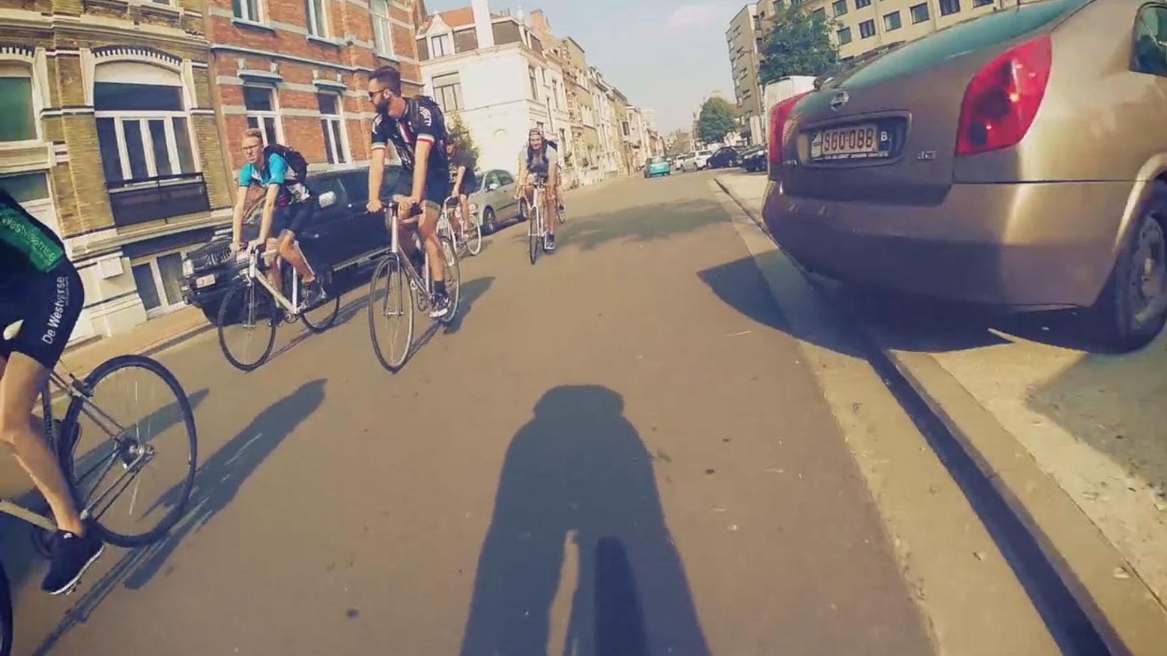 Compilation vidéo made in Belgique de Fixed Gear Ghent