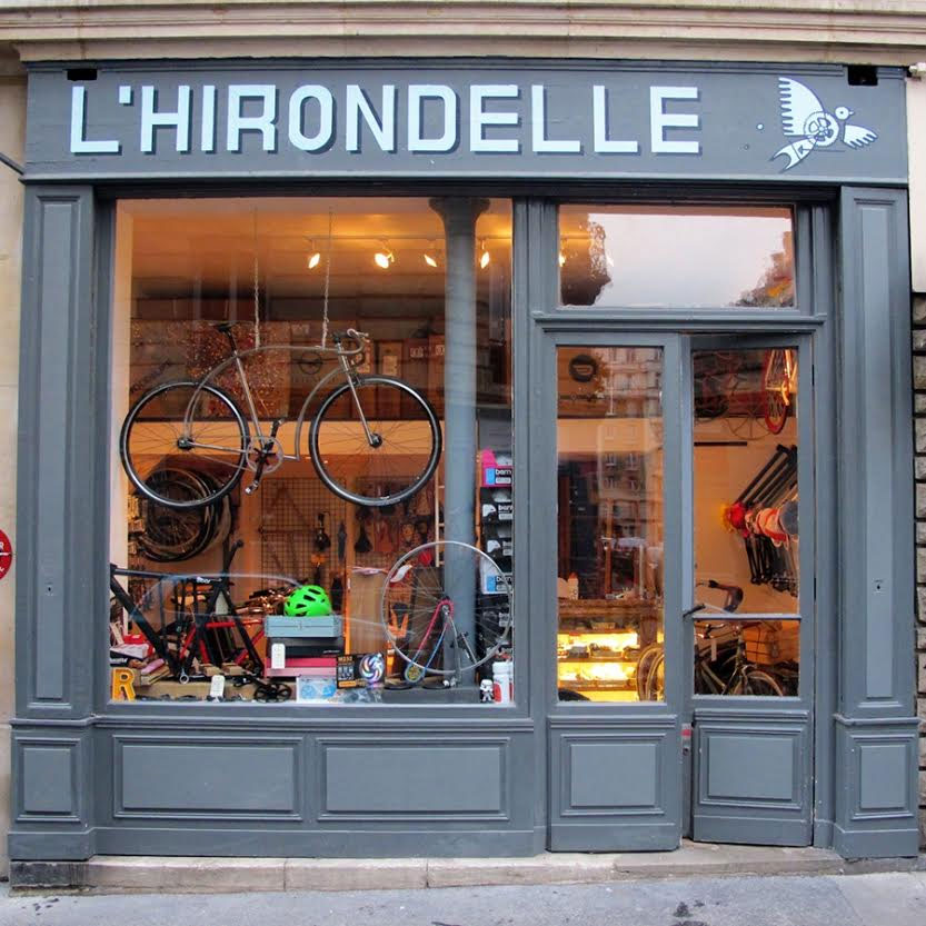 L'Hirondelle, boutique bike shop dans le 15ème à Paris