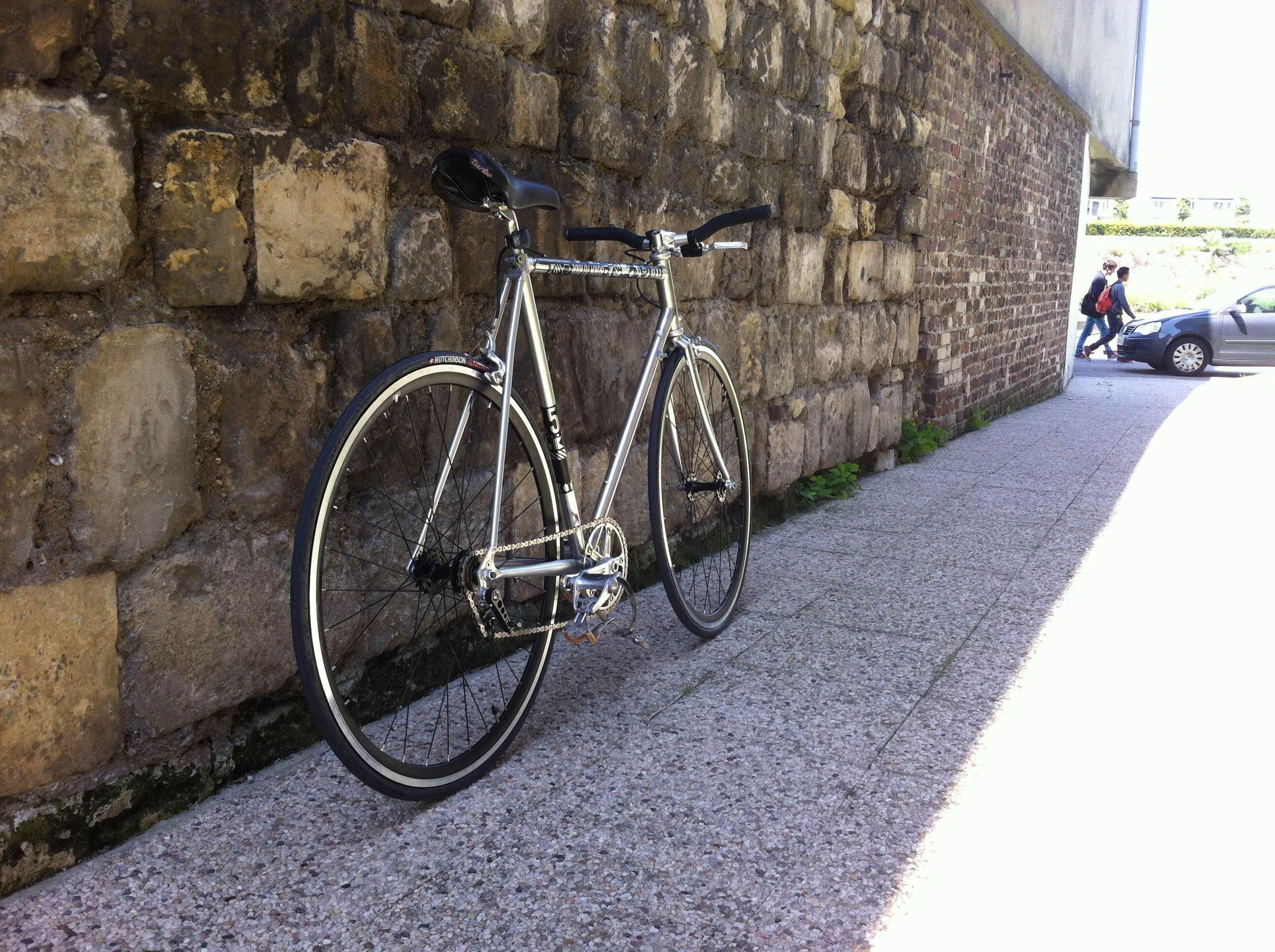 Vélo flip flop sur la base d'un cadre Vitus 52 North
