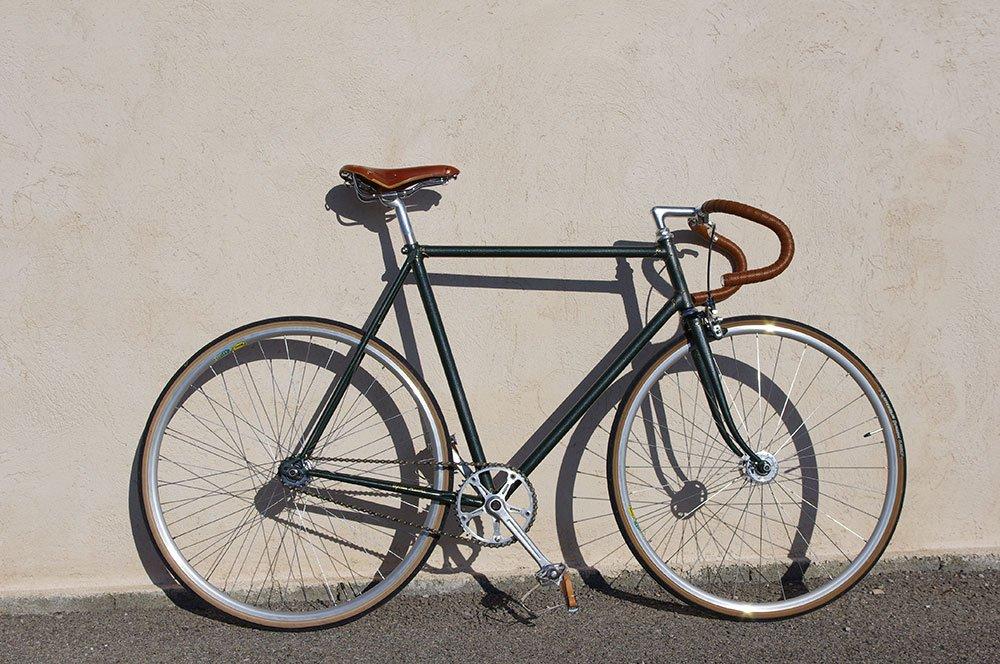 Pignon fixe sobre et élégant de chez Cycles Marchi