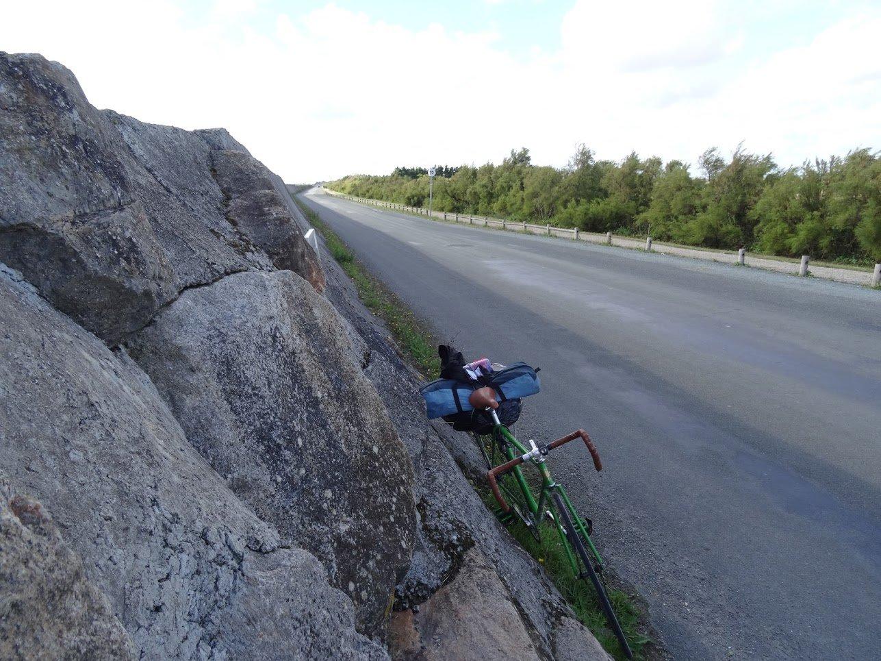 Chronique d'un fixé sur la Vélodyssée en pignon fixe