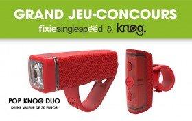 Nouveau jeu-concours Knog, gagnez un set de lampes Pop Duo