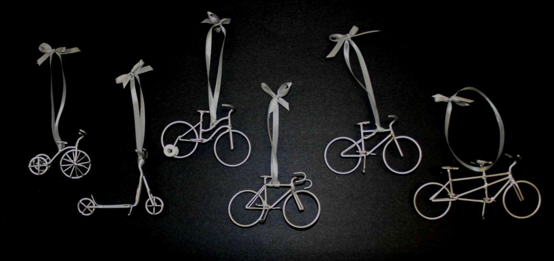Photos et des illustrations sur Noël et les vélos