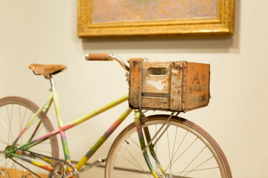 Trois vélos, trois oeuvres d'art au Minneapolis Institute of Arts